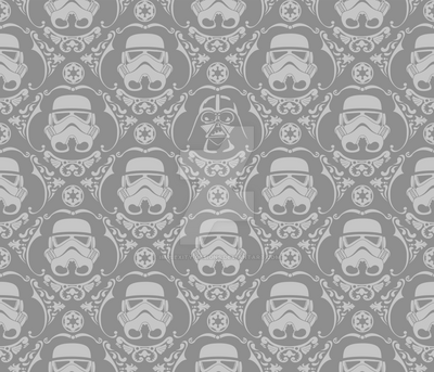 Darth Damask (color variation) by implexity-designs
