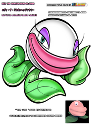 sa2 style mario ocs Eva The Dragon Head Flower