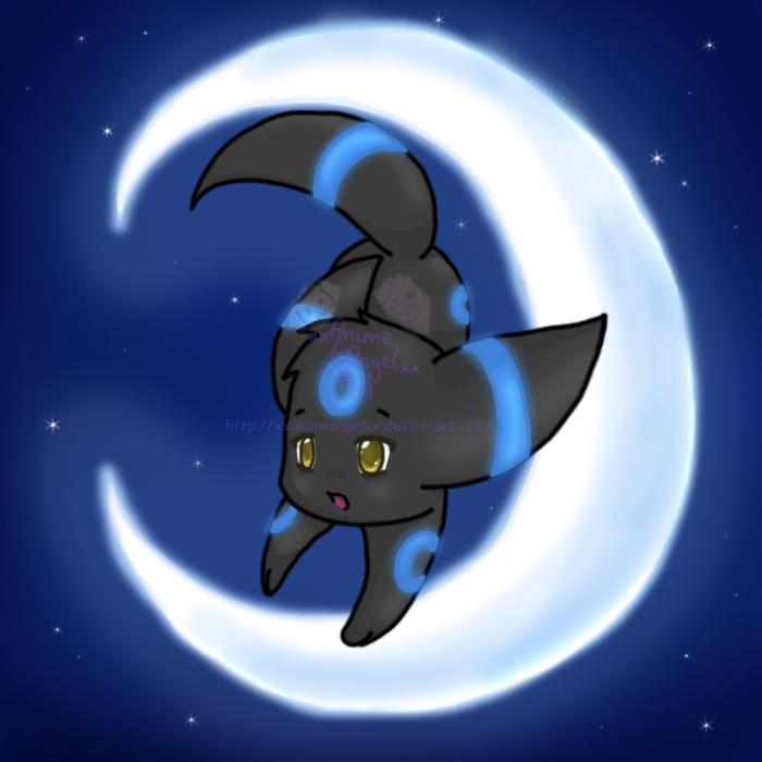 Shiny umbreon by espyfluff on deviantart for Fishing rod pokemon moon