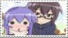Stamp: Tsumiki x Io (Acchi Kocchi) by Angel-Espy