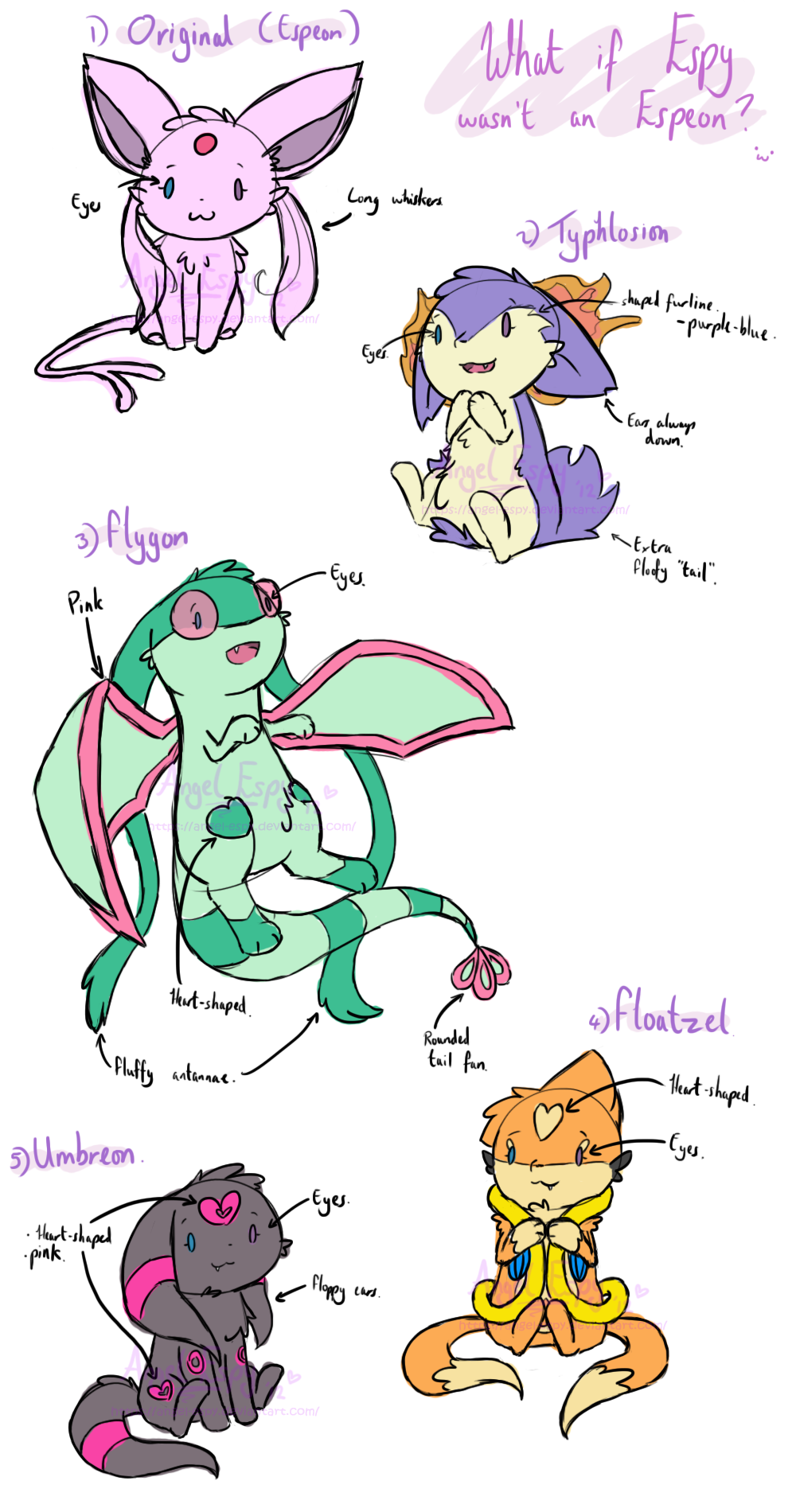 Espy: Alternate Forms? by Espyfluff on DeviantArt