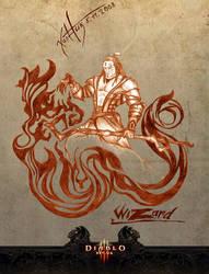 Diablo 3 - Wizard by KLSzx
