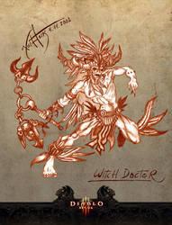 Diablo 3 - Witch Doctor fanart by KLSzx