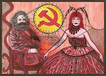 Karl Marx and Ms. Universe by selfregion