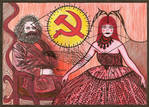 Karl Marx and Ms. Universe
