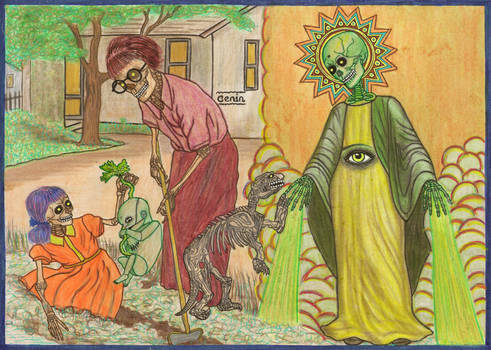 the exhumation of Cenin
