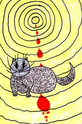 Sunny Cat Melancholy by selfregion