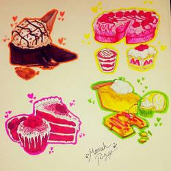 Desserts by DrawSumi
