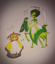 Random Character Designs #2 by DrawSumi