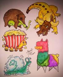 Cutesy Adoptables by DrawSumi