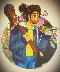 Guitar Guy by DrawSumi