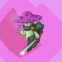 Nightcap (A ninja with a Katana)