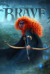 Brave featuring Owen by poodle-of-darkness