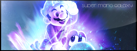 Super Mario Constellation by Tilyoko