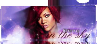 Rihanna in the Sky
