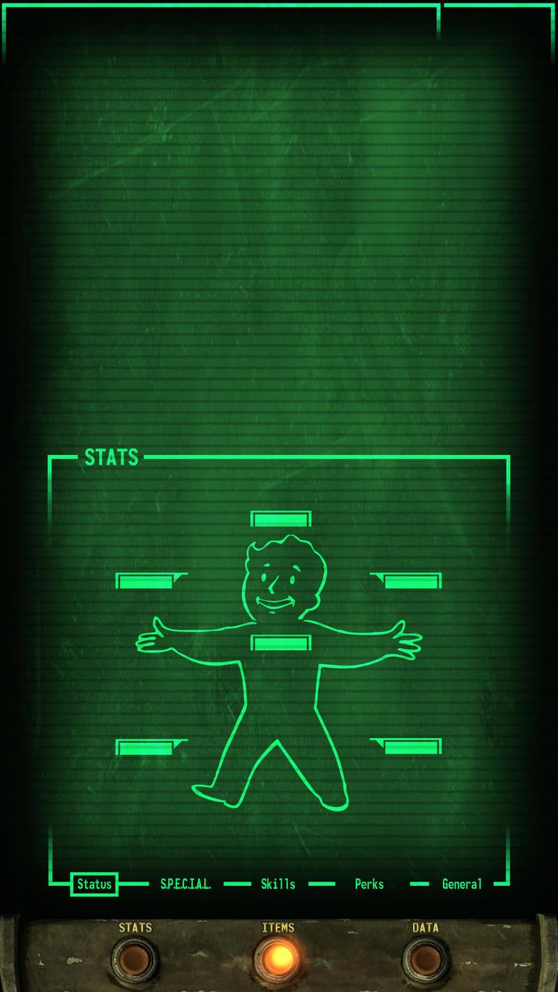 Fallout PipBoy LG-G3 LockScreen by CC-Catastr0phe on DeviantArt