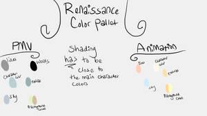 Renaissance Color Pallet