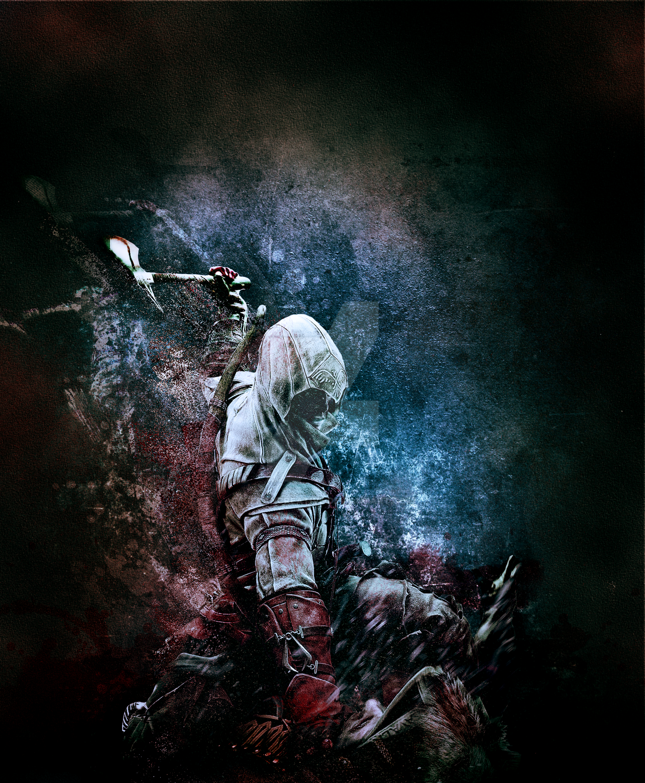 Assassin- Digital artwork by Kieran Hawes by KieranCreative