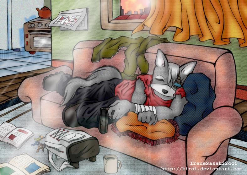 Sleepin.Wolf.ODonnell:3 by Kiroi