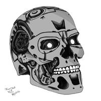 T800/101 Skull Project [Depth Detail]