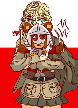 Jajka Girls und Panzer