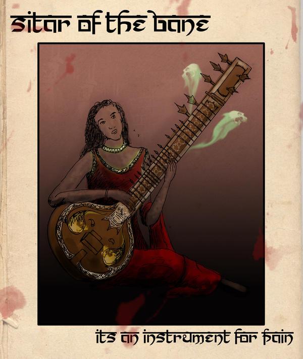 Sitar of the Bane by shweebie
