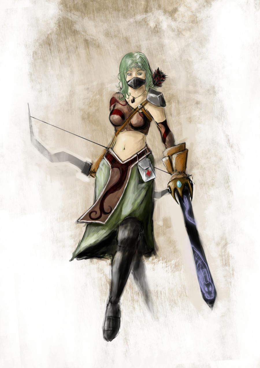 Green Ninja by shweebie