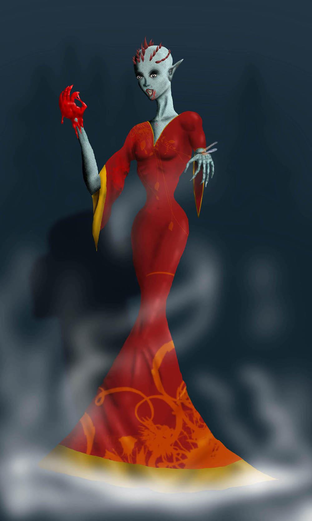 Vampire by shweebie