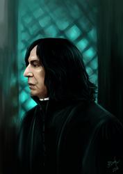 Severus Snape by AlexandraDane