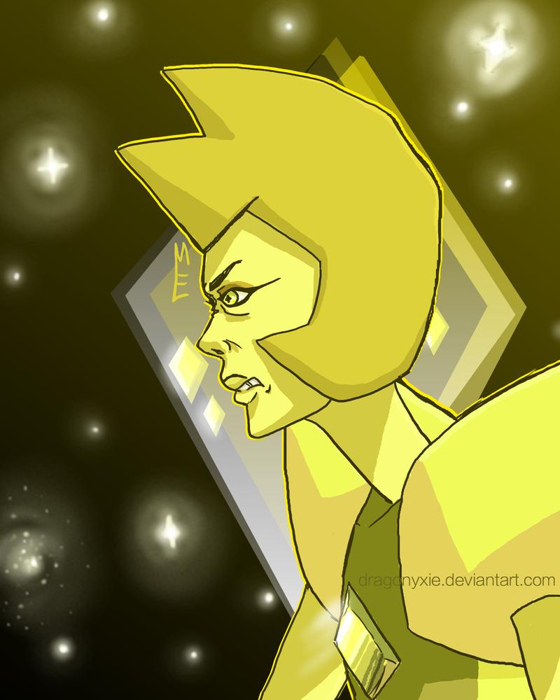 Big Yellow Space Bitch by Dragonyxie