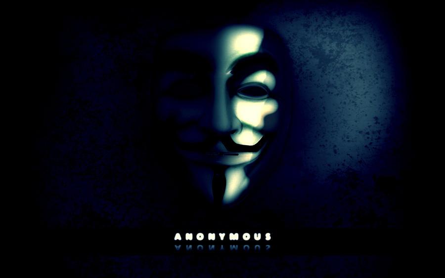 We are Anonymous...V For Vendetta Mask Wallpaper
