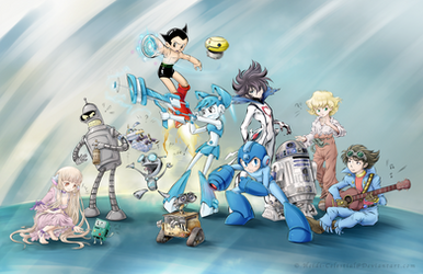 Favorite Robots by Heidi-Celestial