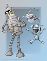 -Bender, Gir, and Goddard