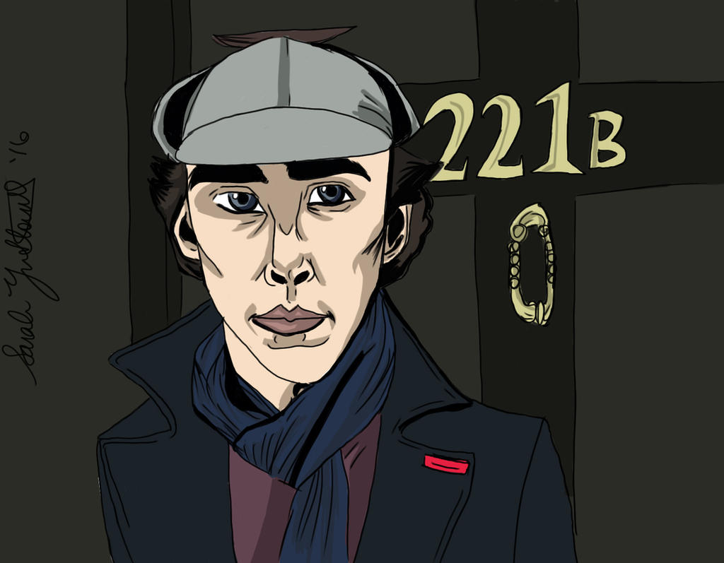Sherlock by SarielPeredhil