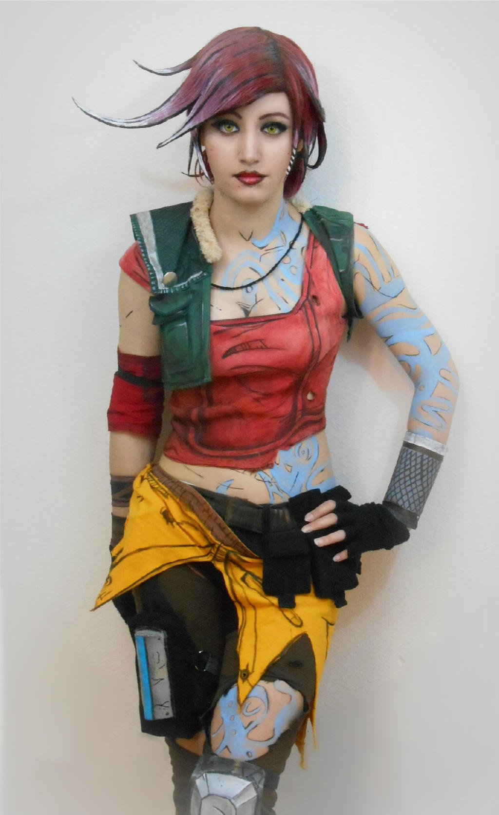 Lilith Cosplay from Borderlands 2 by Ten-Rox on DeviantArt Lilith Borderlands 2 Cosplay