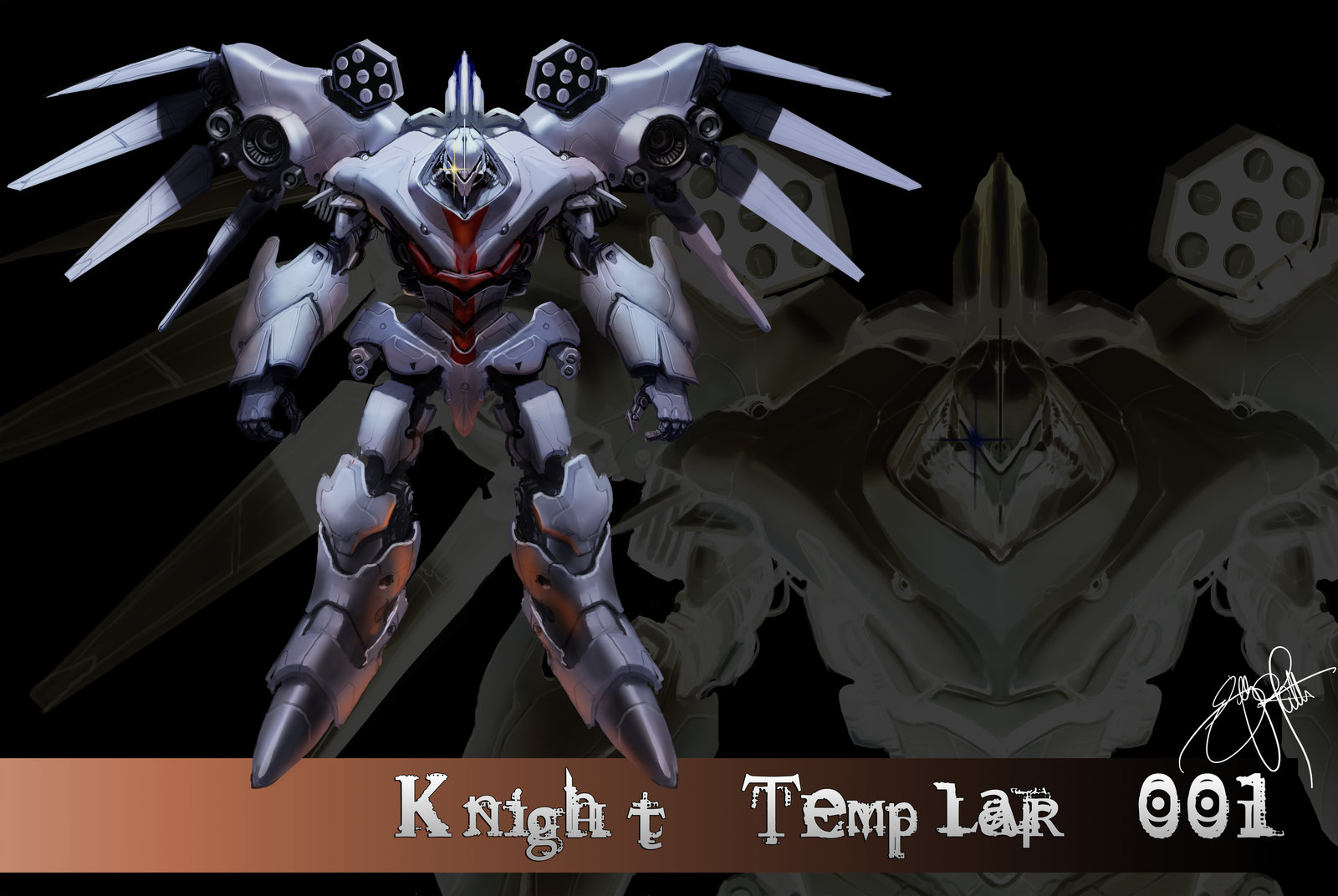 Knight Templar by billydallaspatton