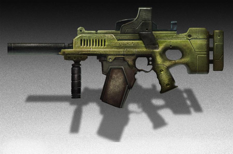 Gun concept call me seven by billydallaspatton on deviantart for R2605