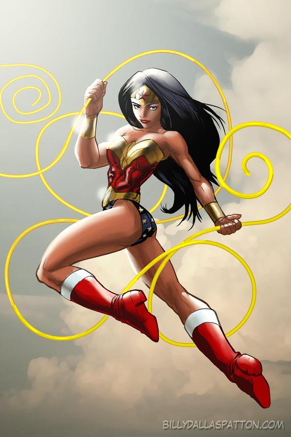 Wonder Woman by billydallaspatton