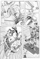 Spider-man Sample Page 02 by billydallaspatton