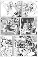 Spider-man Sample Page 03 by billydallaspatton