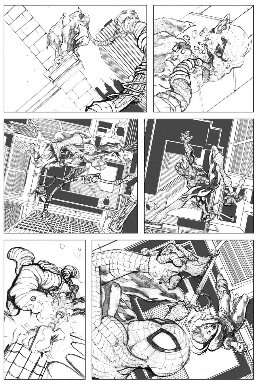 Spider-man Sample Page 03 by billydallaspatton