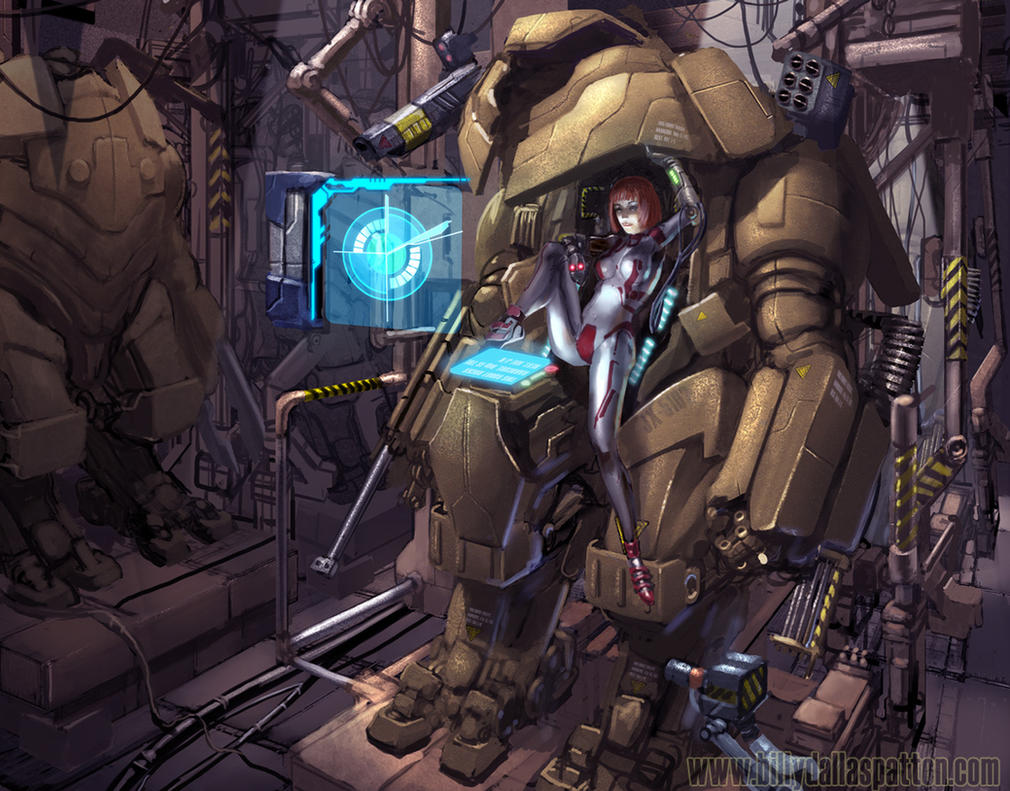 Mech Pilot REDUX FINAL by billydallaspatton