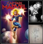 Captain Marvel 2019 by billydallaspatton