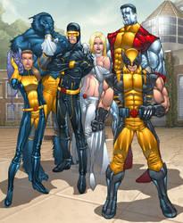 X-men Unlimited by billydallaspatton