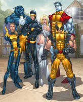 X-men Unlimited by billydallaspatton