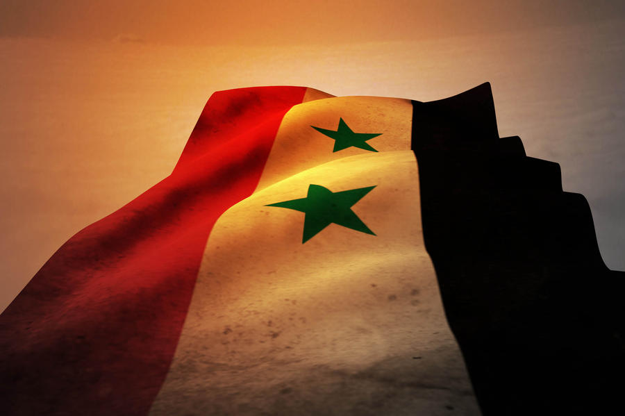 Syria Flag On D By Mohanmadabd On DeviantArt - Syria flag