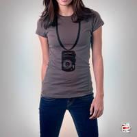 camera t-shirt by mohanmadabd