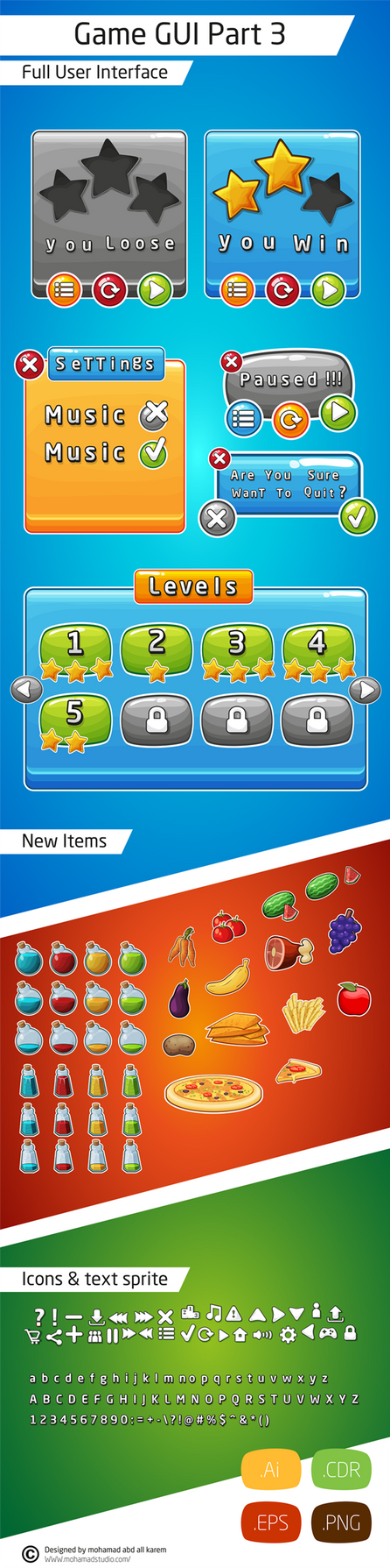 Game Gui Part 3 by mohanmadabd