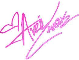 Firma de Avril Lavigne by Caarotutoriales