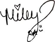 Firma de Miley Cyrus by Caarotutoriales